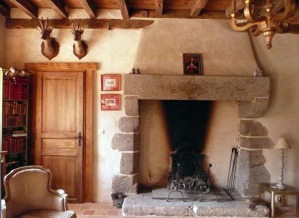 Restauration de chemin e ma onnerie - Restaurer cheminee ancienne ...
