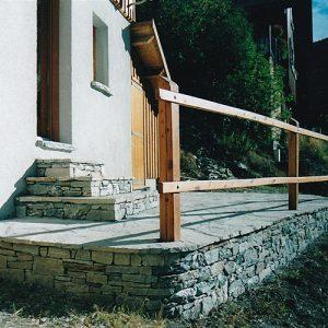 Terrasse et escalier en pierres WEB